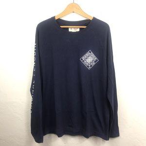 Original Penguin Blue Long Sleeve Shirt Size L